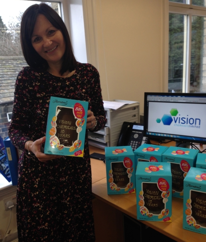 Vision Chemicals is celebrating ten years of solid growth